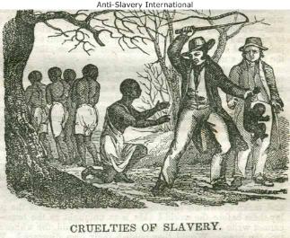 La realidad de la esclavitud ms esclavos blancos que negros