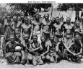 Group of men with ropes around their necks