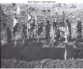 Congolese workers digging trench