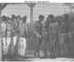 Slaves exposed for sale in West Indies