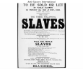 Slave auction poster 1829